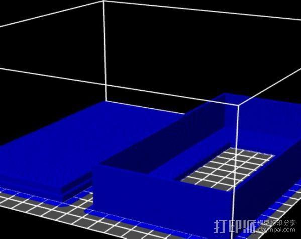 液晶显示屏外壳 3D模型  图4