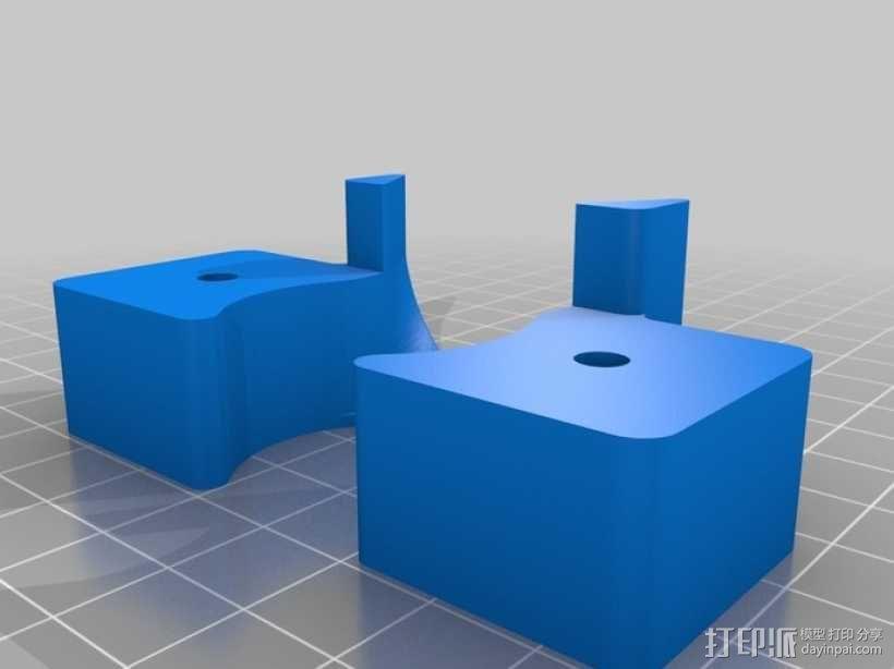 Delta-Pi Reprap 3D 打印机 3D模型  图10