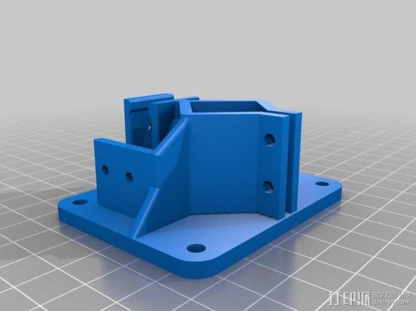 Delta-Pi Reprap 3D 打印机 3D模型  图12