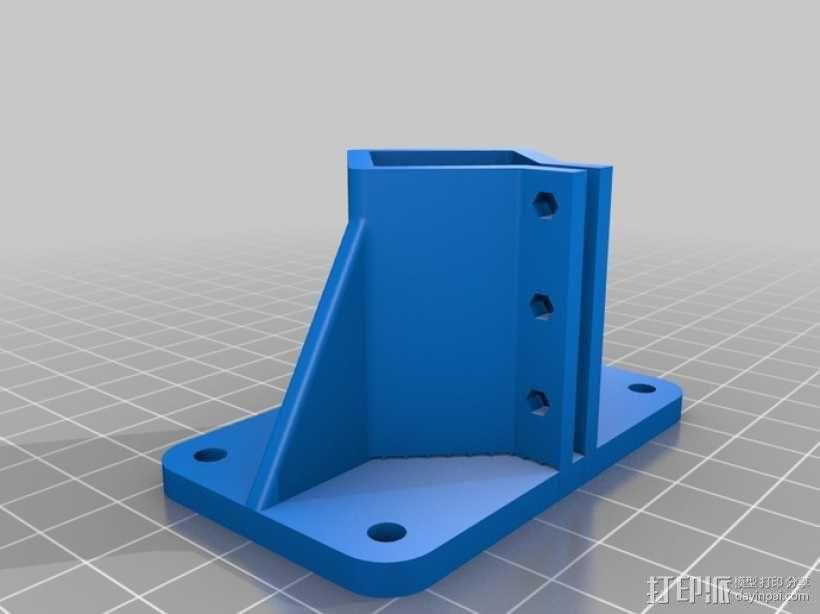 Delta-Pi Reprap 3D 打印机 3D模型  图15
