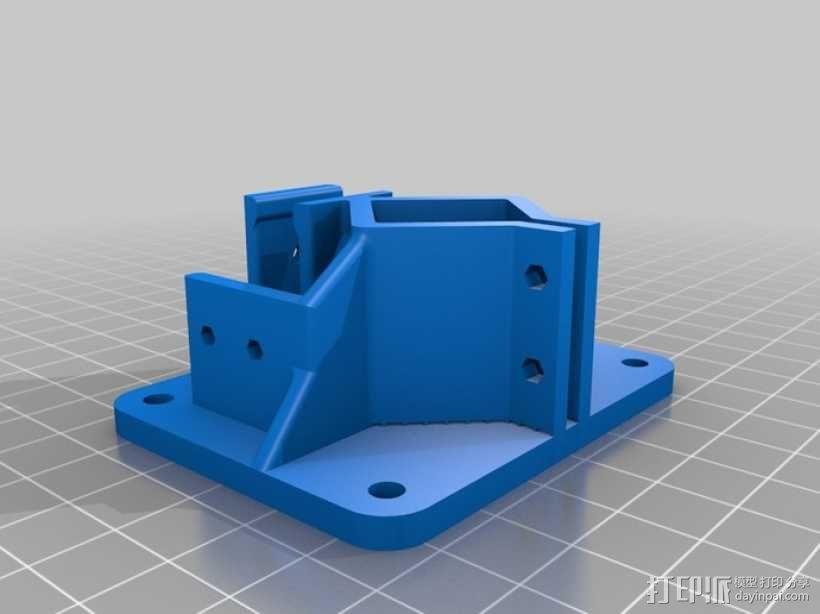 Delta-Pi Reprap 3D 打印机 3D模型  图13