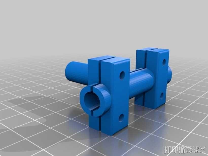 润滑器 3D模型  图1
