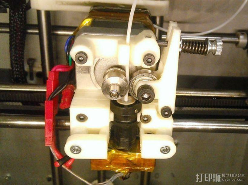 Solidoodle Jigsaw挤出机 3D模型  图1