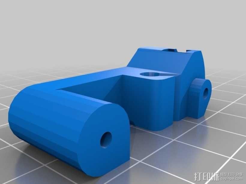 Solidoodle Jigsaw挤出机 3D模型  图4