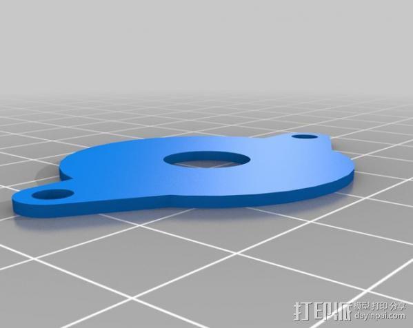 双挤出机 3D模型  图6
