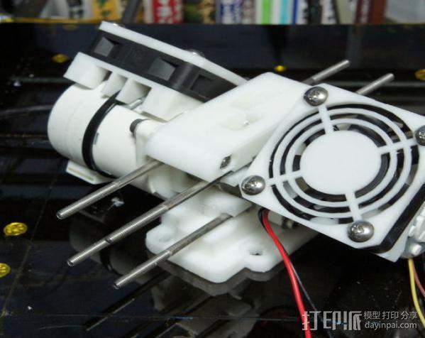 双挤出机 3D模型  图14