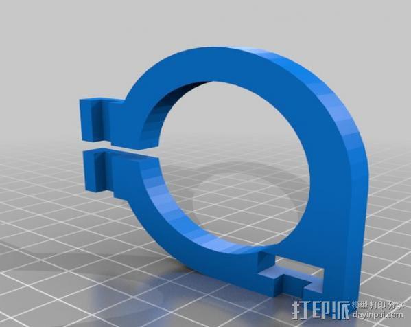 直线丝杆导轨 3D模型  图5