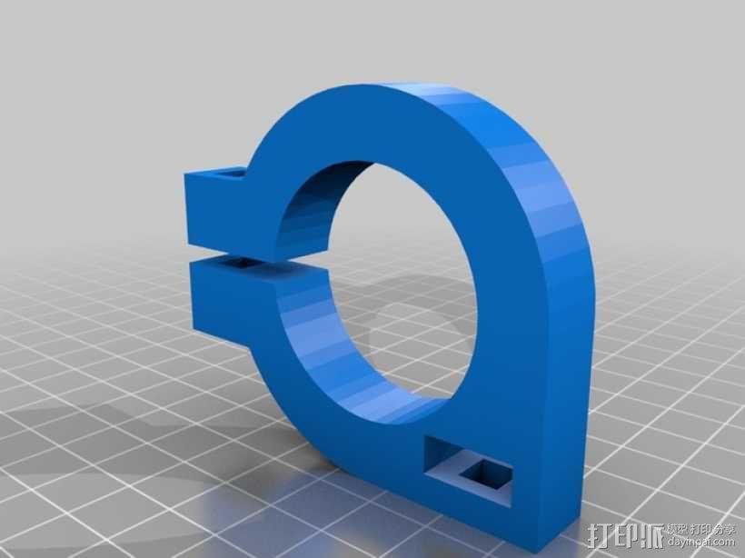 直线丝杆导轨 3D模型  图7