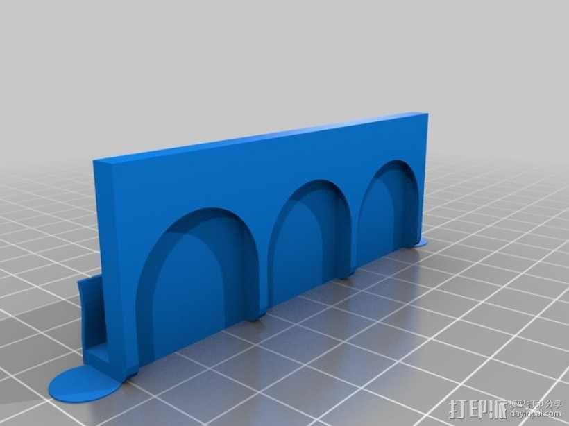 SD卡收纳架 3D模型  图2