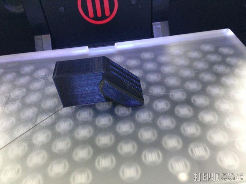 SD卡收纳槽 3D模型  图1