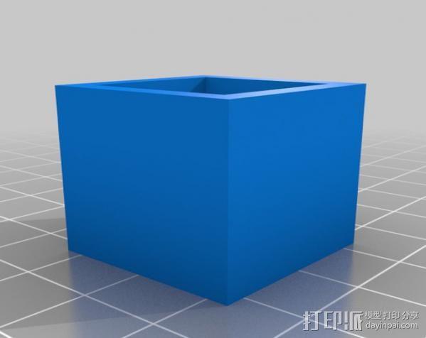 打印机校准器 3D模型  图1