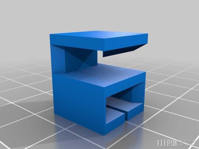 线材导轨 3D模型  图2