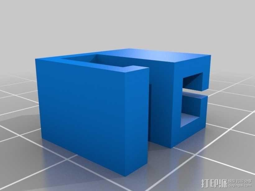 线材导轨 3D模型  图5