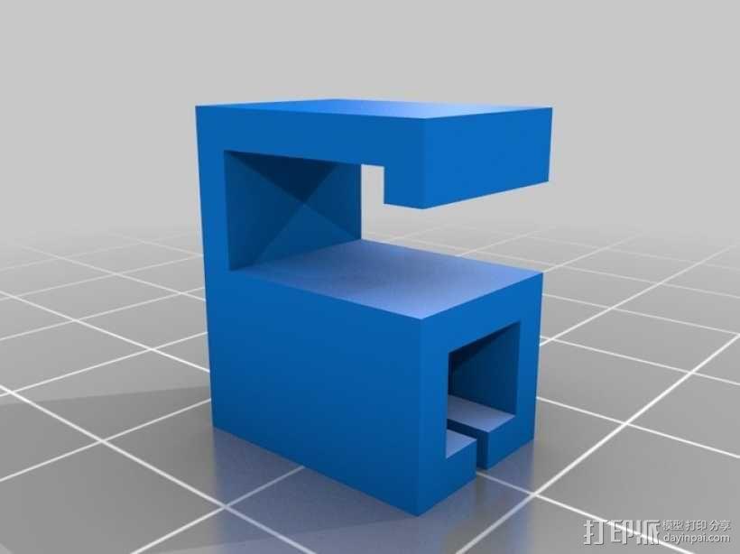 线材导轨 3D模型  图3