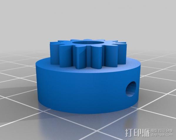迷你挤出机 3D模型  图6
