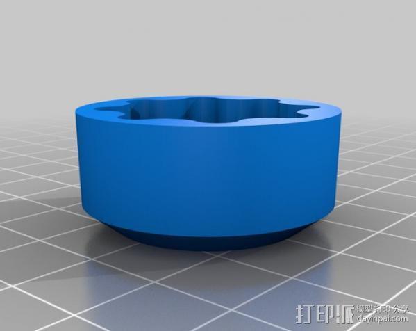 圆内螺线齿轮盒 3D模型  图8