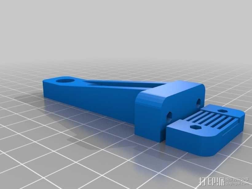 皮带夹 3D模型  图4