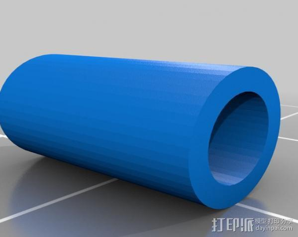 线材过滤器 线材清洁器 3D模型  图1