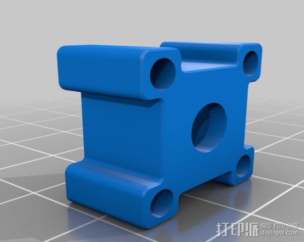 线材过滤器 线材清洁器 3D模型  图3