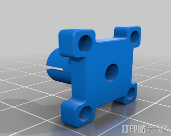 线材过滤器 线材清洁器 3D模型  图2