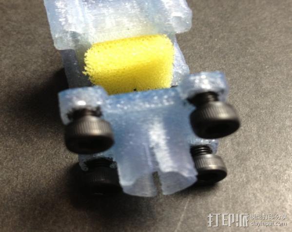 线材过滤器 线材清洁器 3D模型  图5