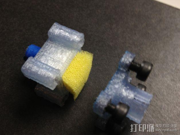 线材过滤器 线材清洁器 3D模型  图6