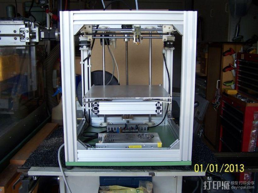H Configured 3D 打印机 3D模型  图1