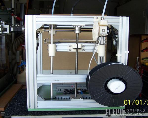 H Configured 3D 打印机 3D模型  图7