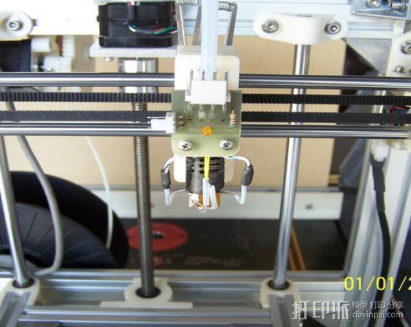 H Configured 3D 打印机 3D模型  图10