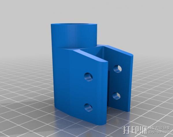 H Configured 3D 打印机 3D模型  图23
