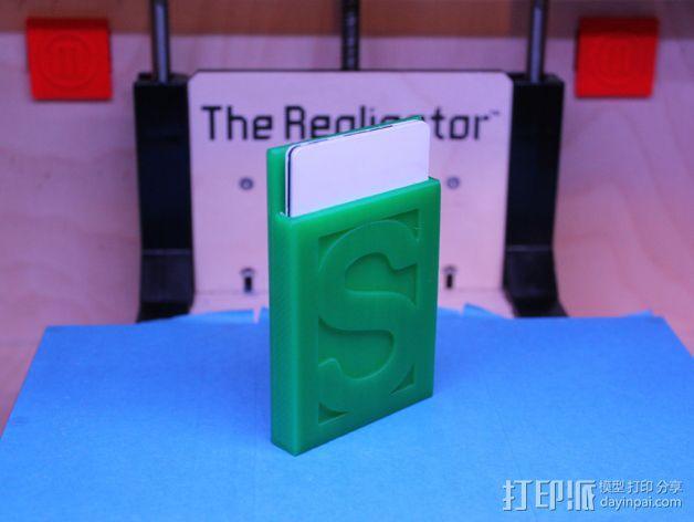 钱夹 卡包 3D模型  图2