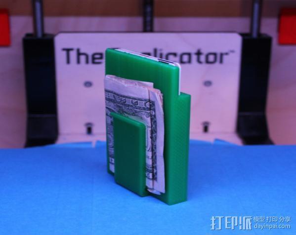 钱夹 卡包 3D模型  图3