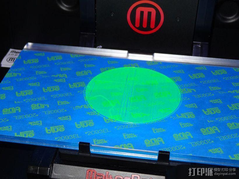 打印床调平器 3D模型  图1