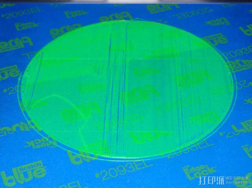 打印床调平器 3D模型  图2