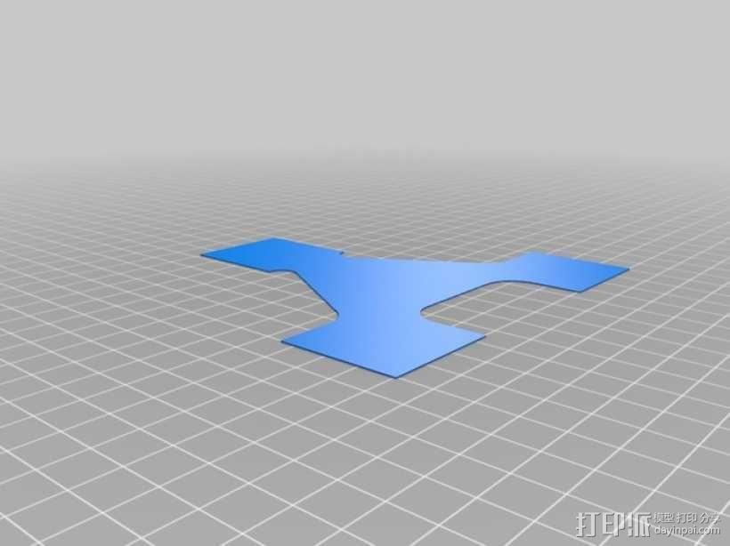 打印床调平器 3D模型  图6