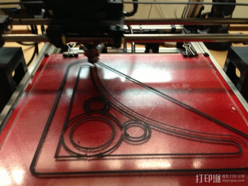 米奇三角托架 3D模型  图3