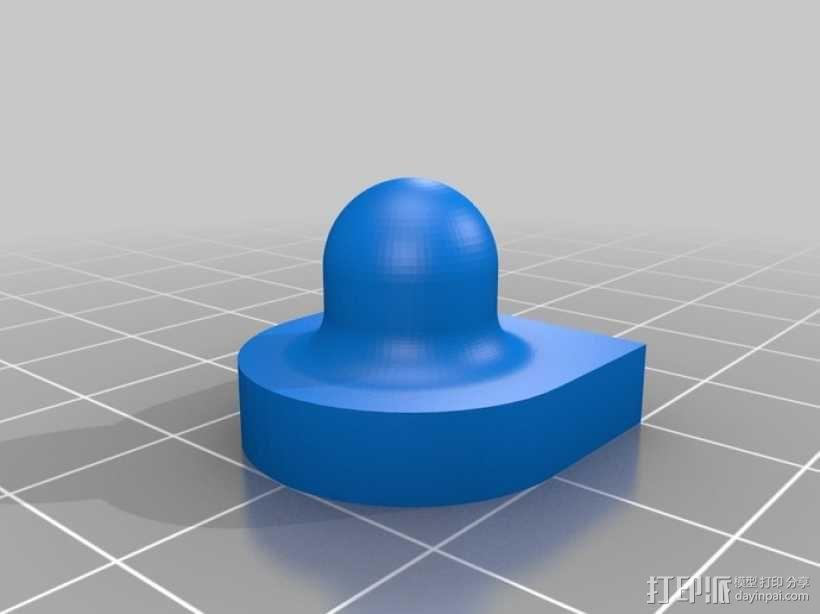 校准器 纹理 打印测试  3D模型  图1