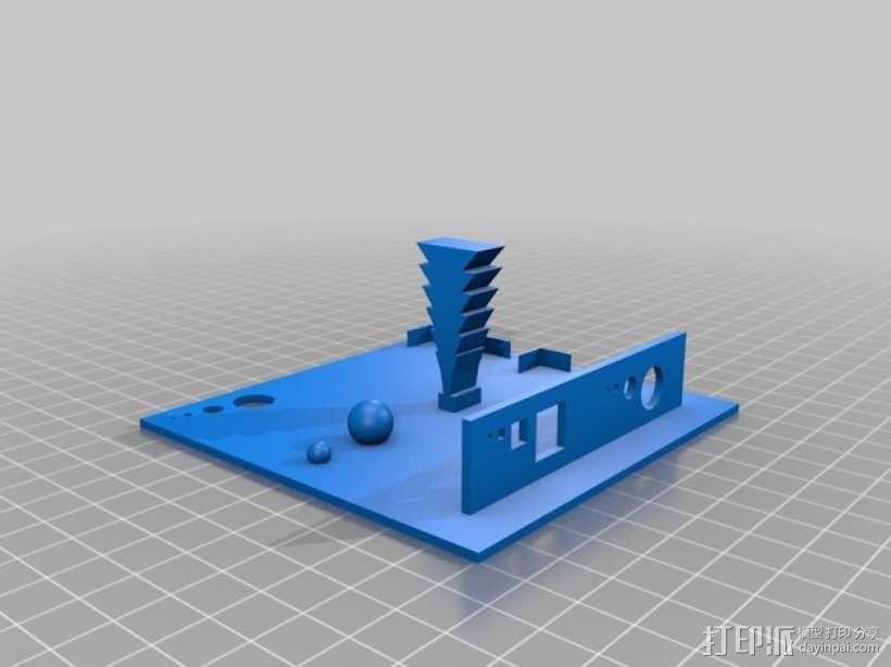 3D打印测试  3D模型  图1