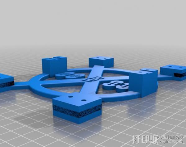 Mendel Max打印机连接棱柱 连接器  3D模型  图4