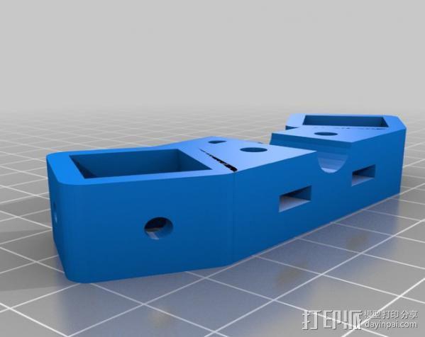 Mendel Max打印机连接棱柱 连接器  3D模型  图7