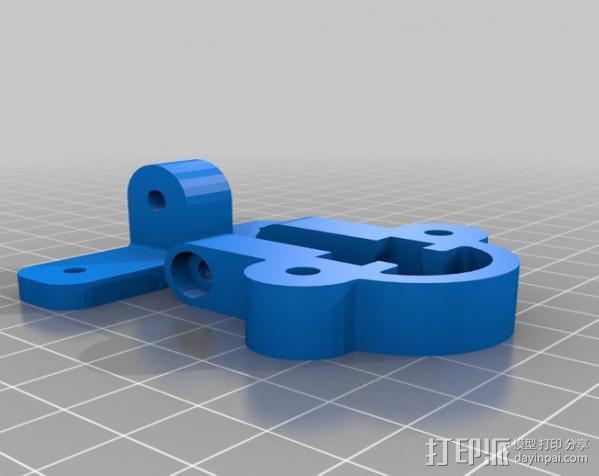 Mendel Max打印机连接棱柱 连接器  3D模型  图6