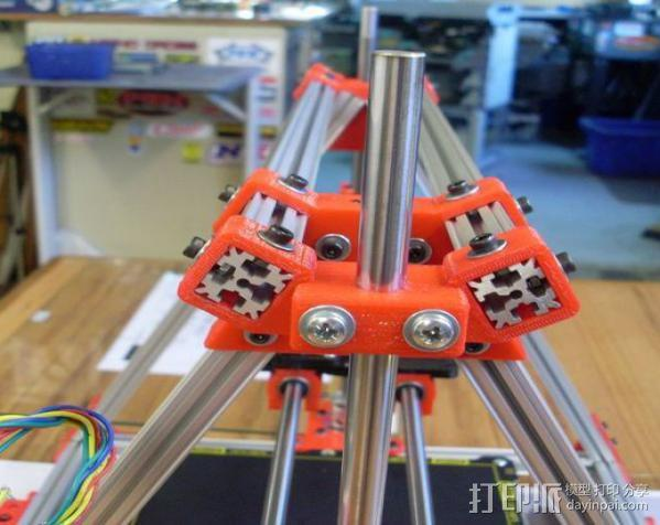 Mendel Max打印机连接棱柱 连接器  3D模型  图14