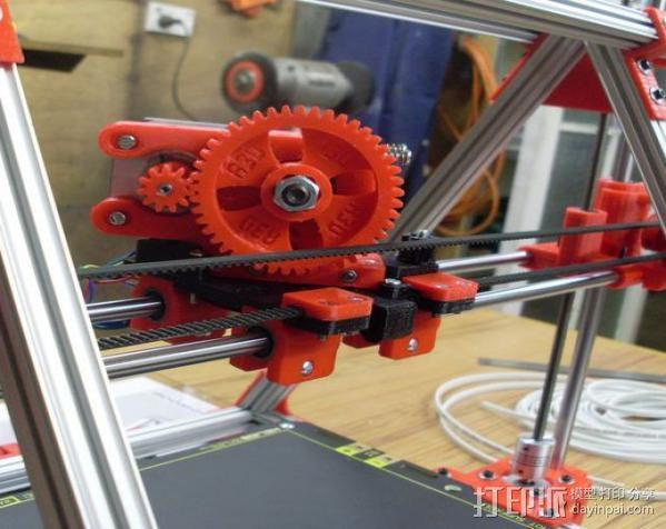 Mendel Max打印机连接棱柱 连接器  3D模型  图11