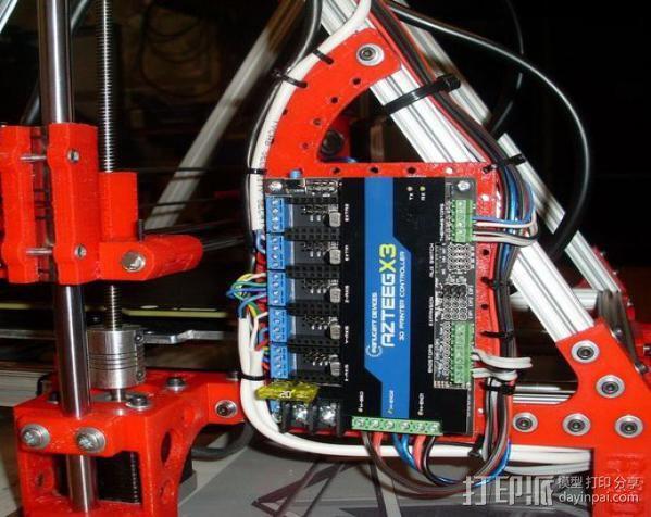 Mendel Max打印机连接棱柱 连接器  3D模型  图17