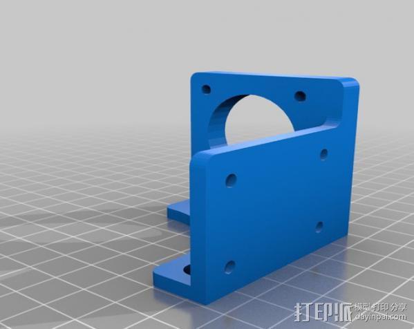 Mendel Max打印机连接棱柱 连接器  3D模型  图15