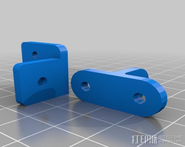 Mendel Max打印机连接棱柱 连接器  3D模型  图20