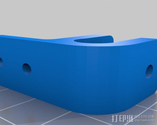 Mendel Max打印机连接棱柱 连接器  3D模型  图18