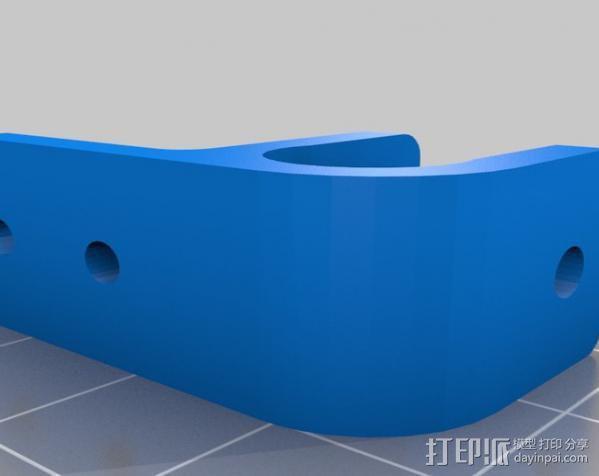 Mendel Max打印机连接棱柱 连接器  3D模型  图19