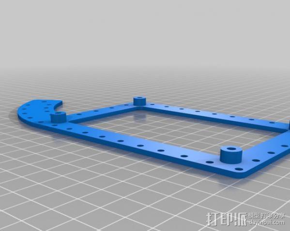 Mendel Max打印机连接棱柱 连接器  3D模型  图21