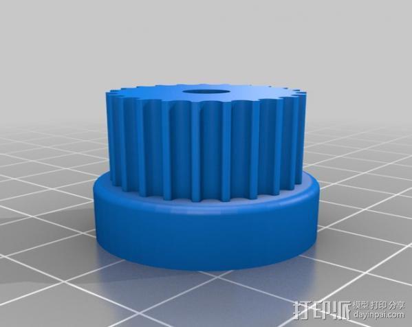 Mendel Max打印机连接棱柱 连接器  3D模型  图22